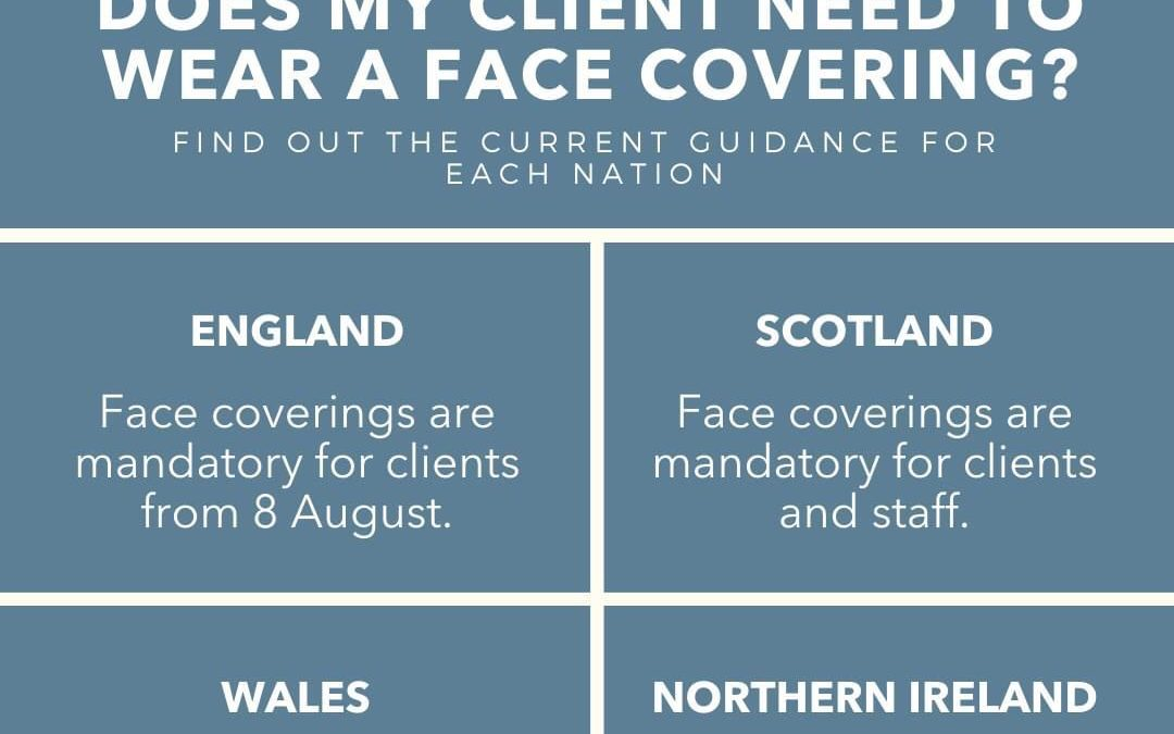 Face Masks Mandatory for Customers in Salons