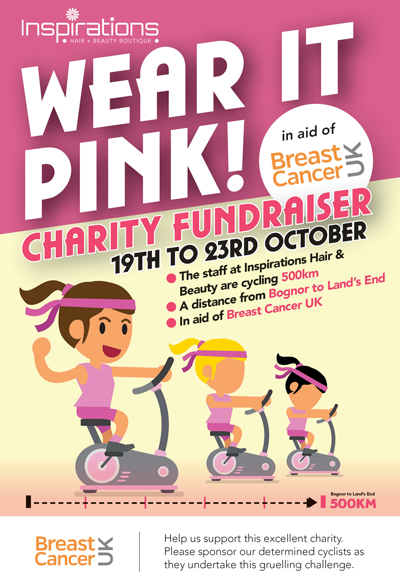 breast cancer charity fundraiser